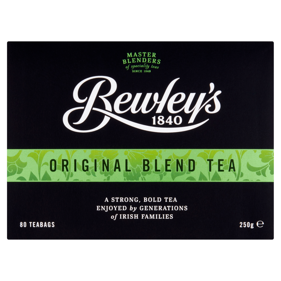 Bewley's  Original Blend Tea Bags – 80 Ct.