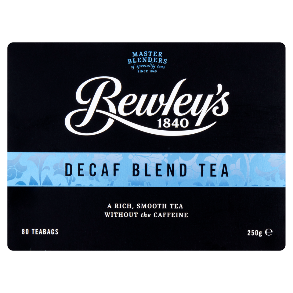 Bewley's Decaf Blend Tea Bags – 80 Ct.