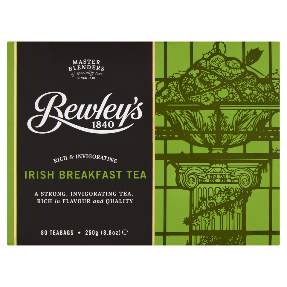 Bewley's Irish Breakfast Teabags – 80 Ct.