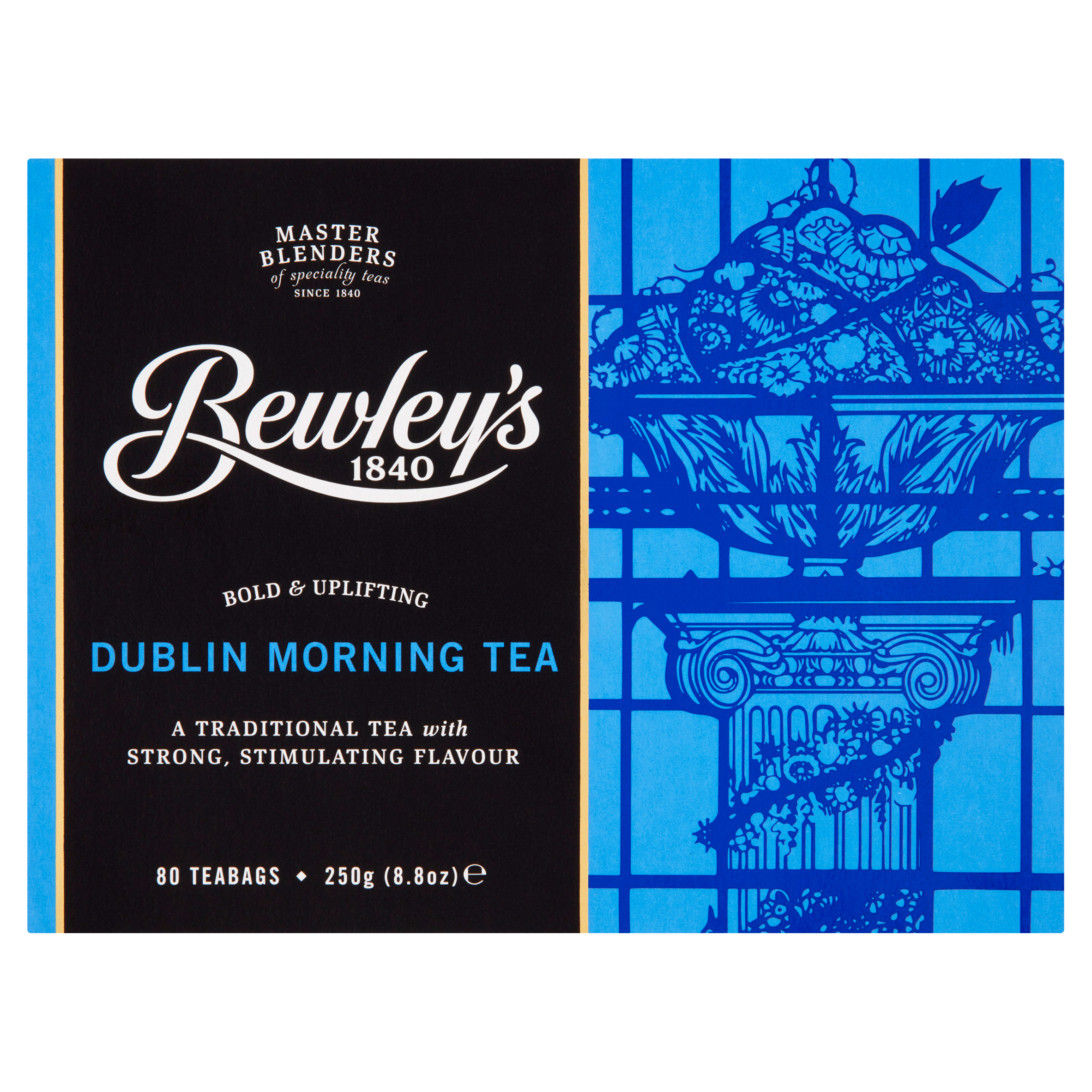 Bewley's Dublin Morning Teabags – 80 Ct
