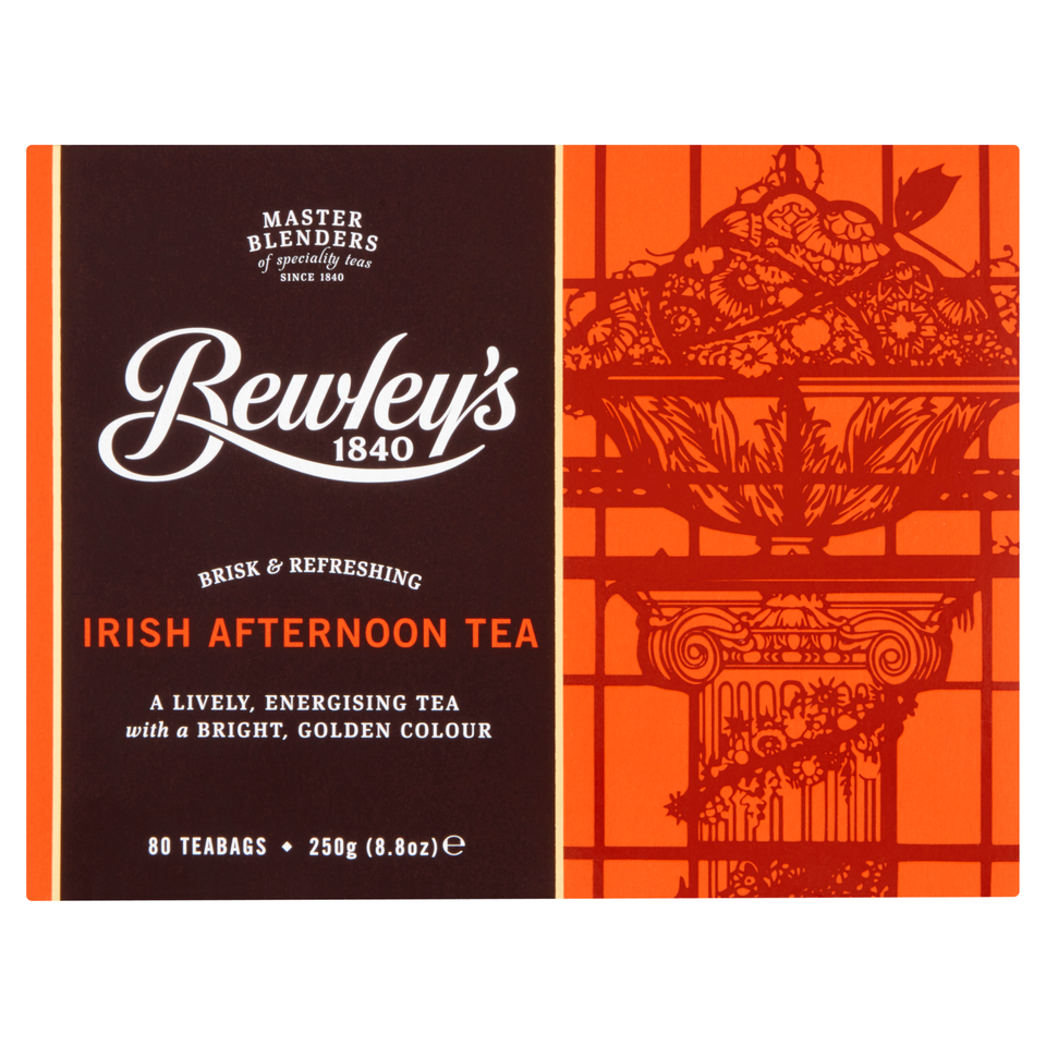 Bewley's Irish Afternoon Teabags – 80 Ct