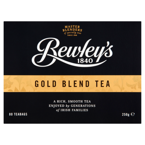 Bewley's Gold Blend Tea – 80 Count