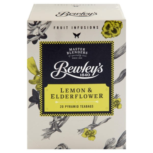Bewley's Lemon & Elderflower Pyramid Teabags