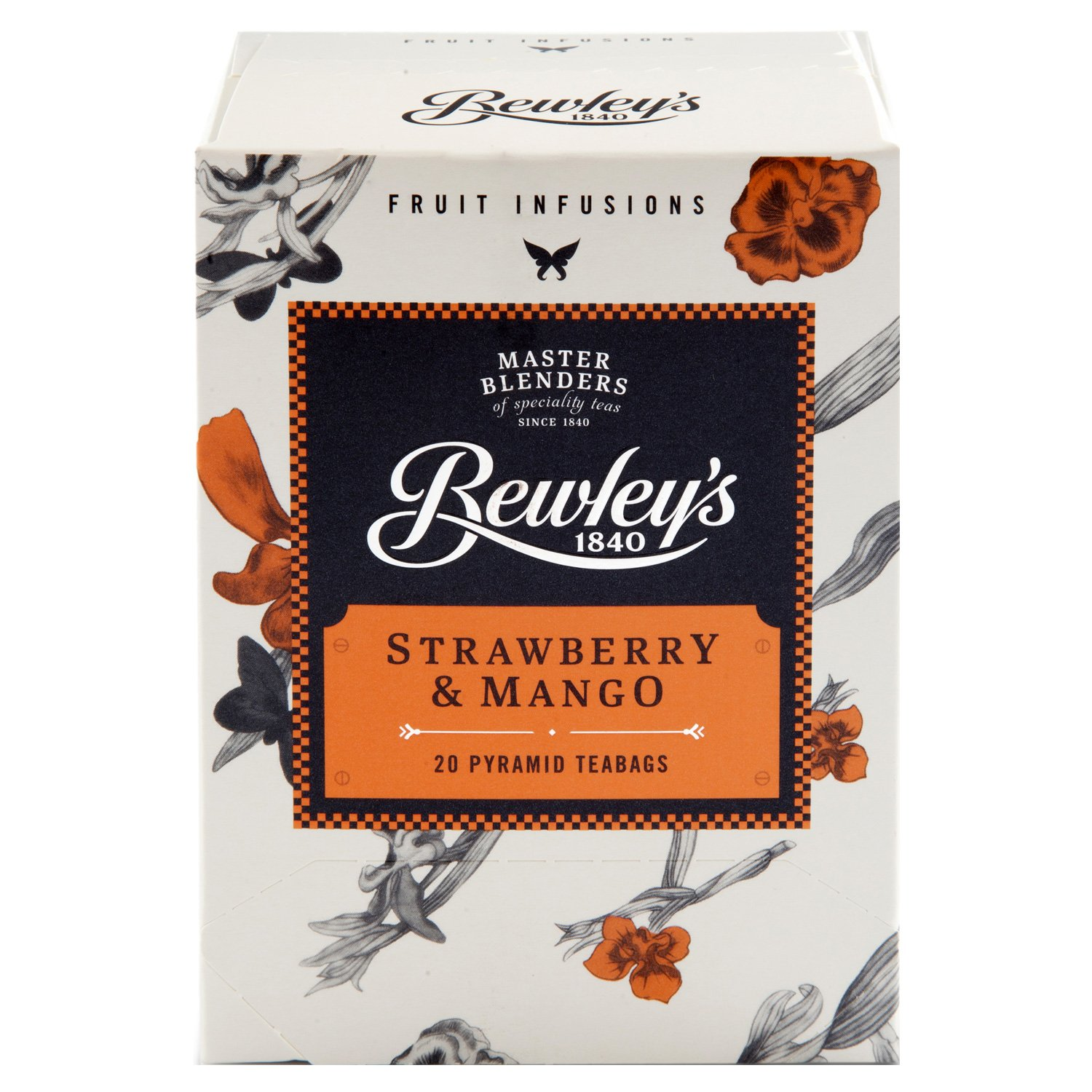Bewley's Strawberry & Mango Pyramid Teabags