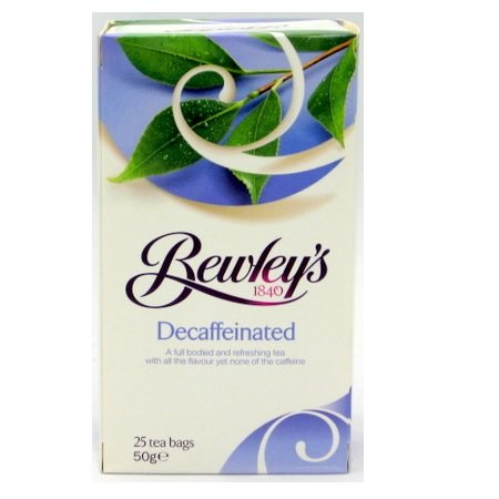 Bewley's Decaffeinated Tea Bags – 25 Ct.