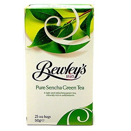 Bewley's Pure Sencha Green Tea Bags – 25 Ct.