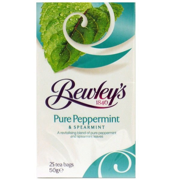 Bewley's Pure Peppermint & Spearmint Tea Bags – 25 Ct.