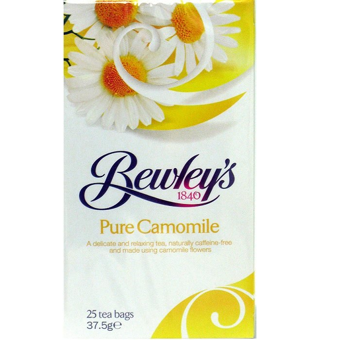 Bewley's Pure Camomile Tea Bags – 25 Ct.