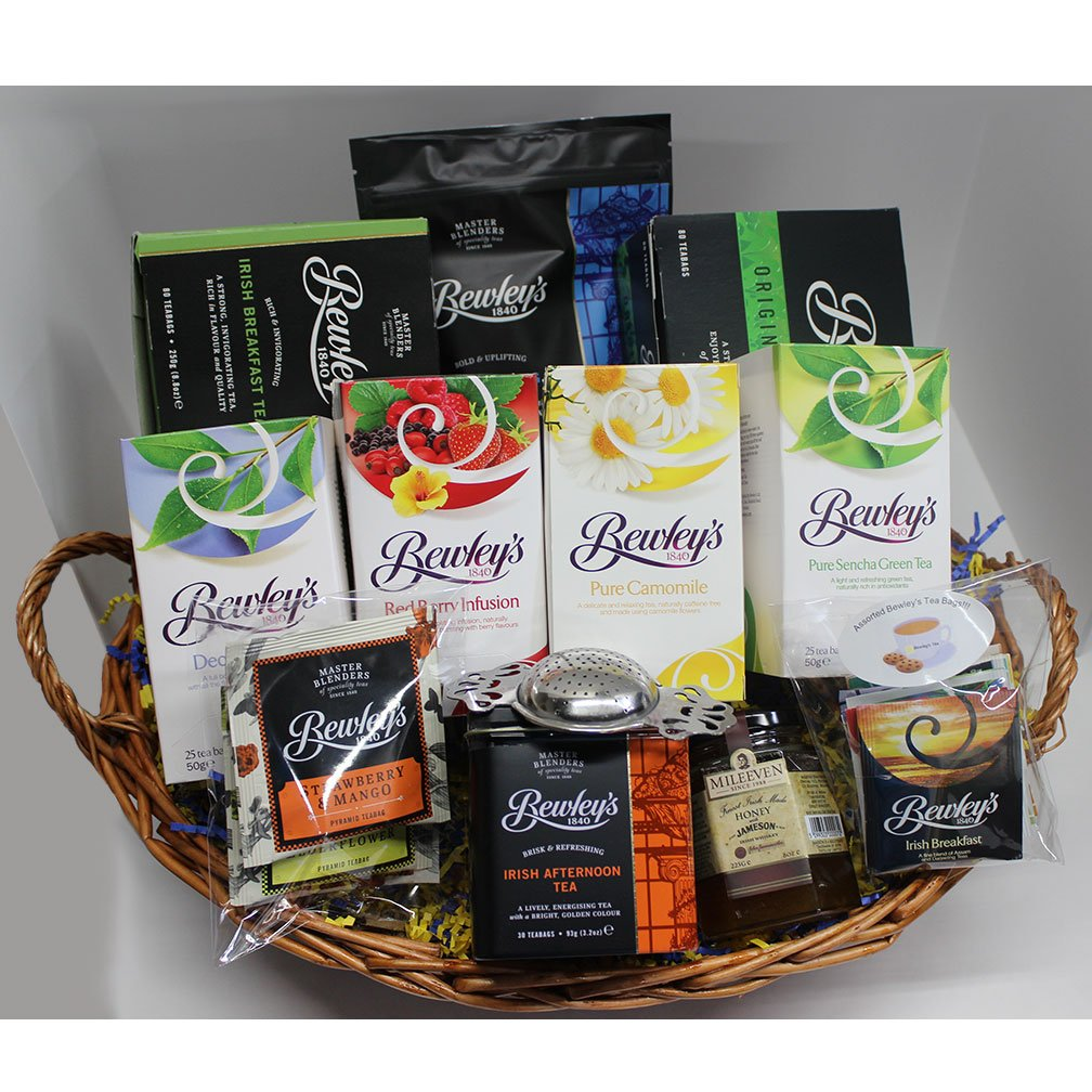 Bewley's Tea Lovers Survival Gift Basket