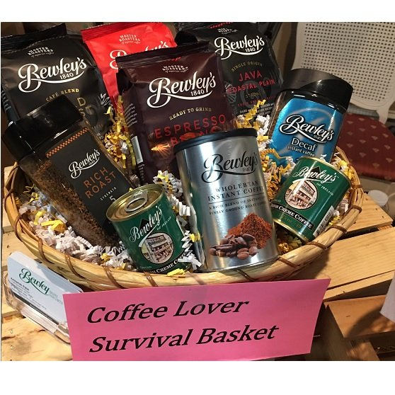 Coffee Lover Survival Basket