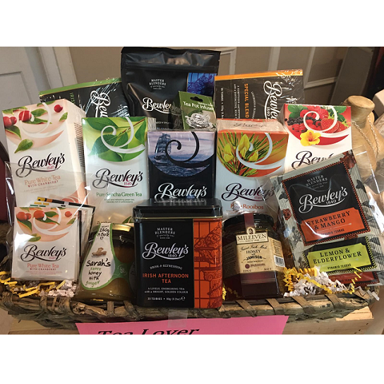 Tea Lover Survival Basket