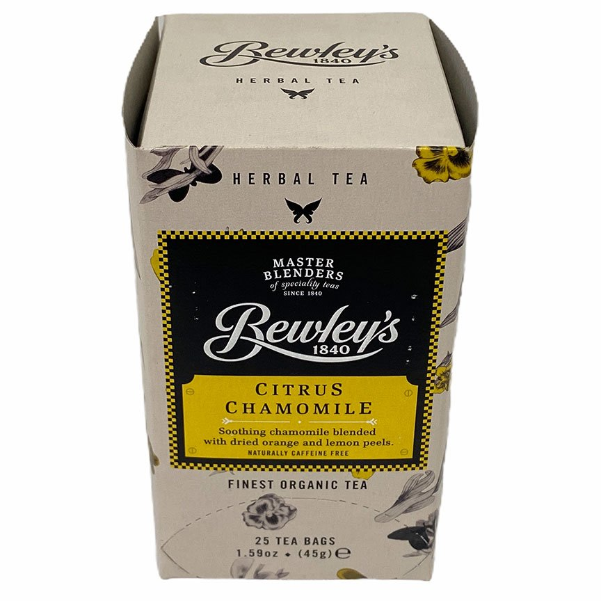 Bewley's Citrus Chamomile Tea – 25 Ct