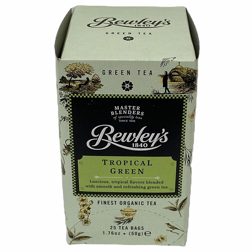 Bewley's Tropical Green Tea – 25 Ct